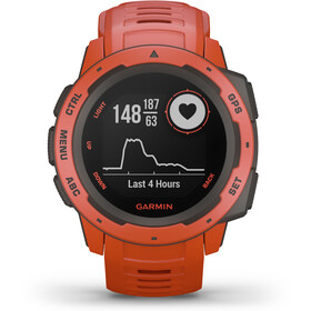 Garmin Instinct GPS Smartwatch flame red